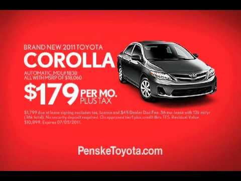 Penkse Toyota Vehicle Exchange Program Youtube