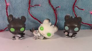 Funko POP! Night Liġhts How to Train Your Dragon 3 Babies Unboxing Review