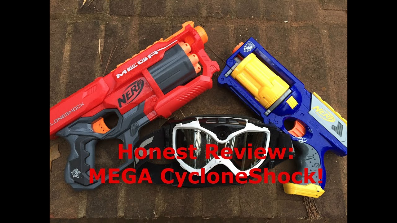 Honest Review The NEW 2015 MEGA CYCLONESHOCK Mega Revolver Action