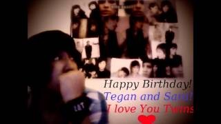 HAPPY BIRTHDAY TEGAN AND SARA! From Latin America with love