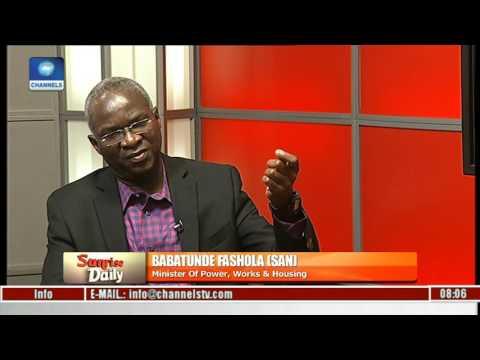 Babatunde Fashola Speaks On Power, Works & Housing Issues Pt 3