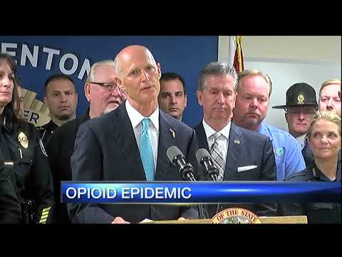 Gov. Rick Scott outlines opioid addiction epidemic strategy