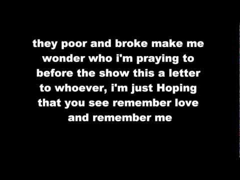 Thugz Mansion - Mac Miller (Lyrics)