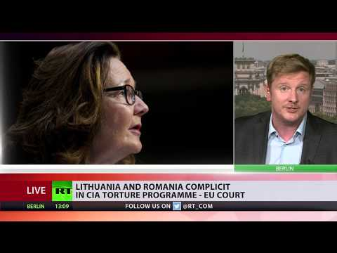 Lithuania & Romania complicit in CIA torture program, EU court rules