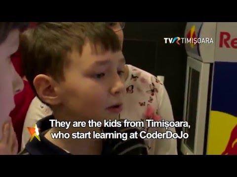 #CoderDojo #Timisoara @TVRTimisoara #CircomRegional