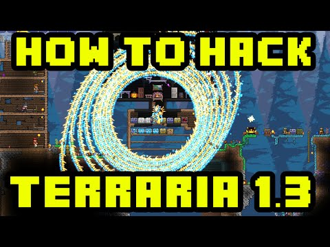 Terraria Mods - How To Hack Terraria 1.3 - INFINITE MINIONS, SPAWN ITEMS, MONSTERS & MUCH MORE!