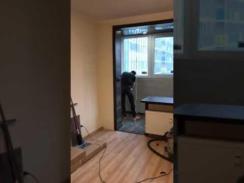 Как оборудовать балкон в спальню . Спб. Компания Ремспецстрой производит отделку балкона под ключ