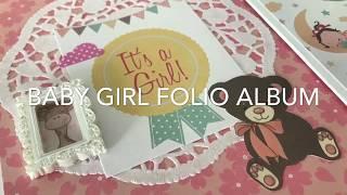Baby Girl Folio Album!!