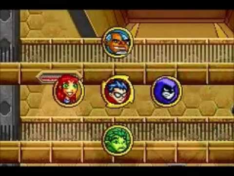 Teen Titans GBA Game - Mission 6 - H.I.V.E Academy