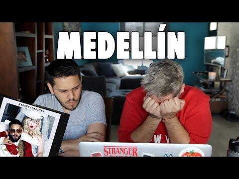Reaccionando A MEDELLIN De MADONNA Con MALUMA!! | Gwabir
