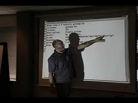 2008, Linux kernel driver writing tutorial (USB), Greg Kroah-Hartman