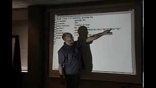 2008, Linux kernel driver writing tutorial (USB), Greg Kroah-Hartman