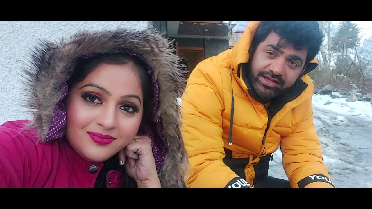 Shooting In Manali | Uttar Kumar | Kavita Joshi - YouTube