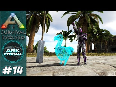 Prime Kentro e EVOLUÇÃO PARA RAPHUS DODO - ARK Expert Eternal #14 ISO: Crystal Island