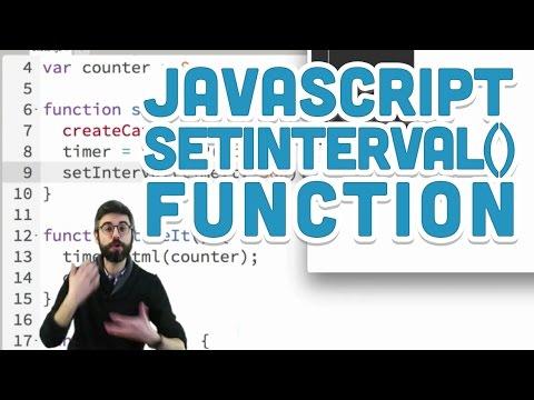 9.5: JavaScript setInterval() Function - p5.js Tutorial