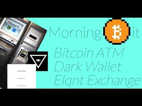 Bitcoin ATM + Dark Wallet + Elqnt | Morning Bit Ep 1