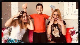 Τηλεπάθεια Challenge με νερομπομπες Lucky Girls VS Famous Toli @Lucky Girl