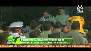 Ejército de Nicaragua celebra su 35 aniversario