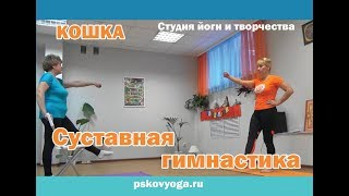 Суставная гимнастика 50+. Преподаватель Елена Горошко