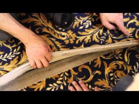 Как стелить ковролин?