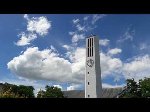Unterneukirchen (AÖ) Christkönigskirche Vollgeläut