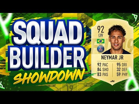 FIFA 19 SQUAD BUILDER SHOWDOWN NEYMAR