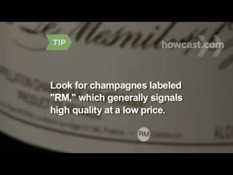 How to Choose a Bottle of Champagne