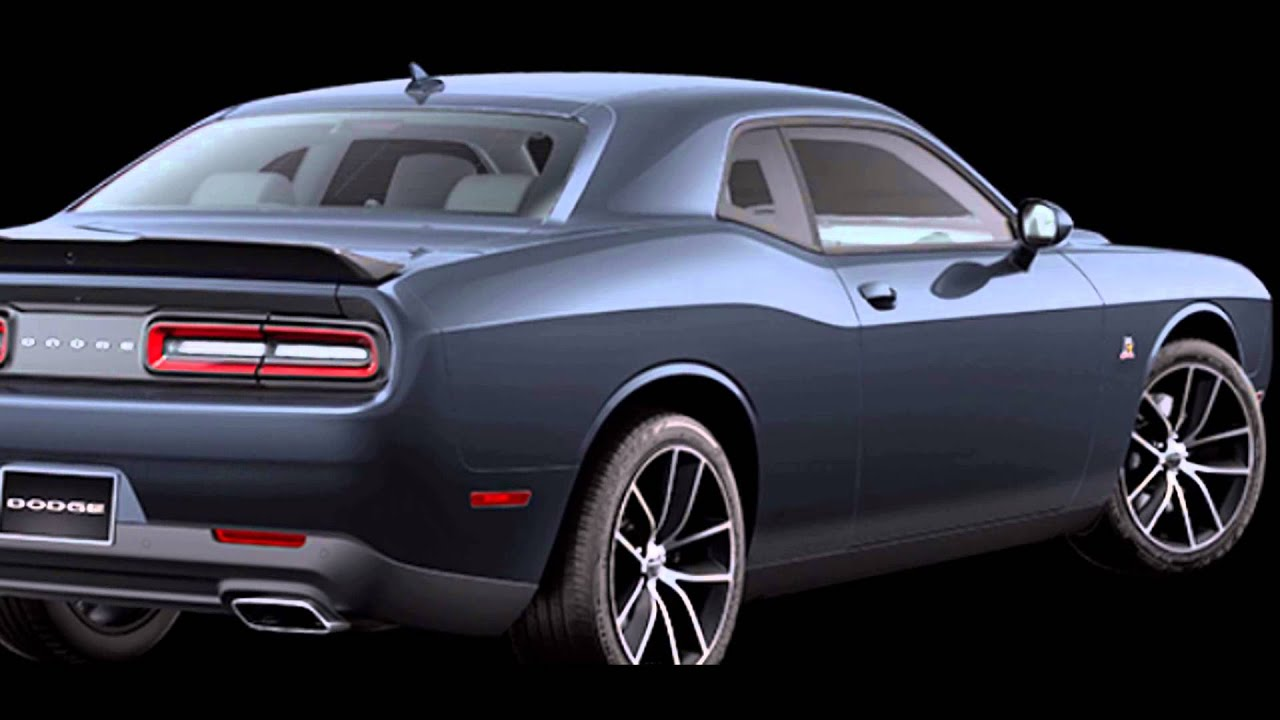 Dodge Charger Demon >> 2016 Dodge Challenger Maximum Steel Metallic - YouTube