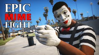 Epic Mime Fight in GTA 5