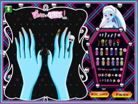 Игры для девочек маникюр - играть бесплатно на Game-Game