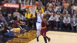 LeBron James Chasedown Block on Dunk At...