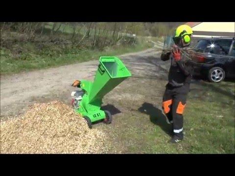 Измельчитель садовый бензиновый LASKI LS51/CH