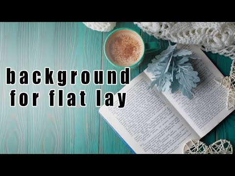 DIY - background for flat lay photo