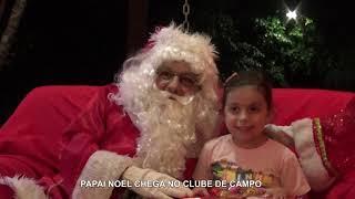 Trem Turístico & Chegada do Papai Noel