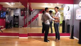 Salsa Video Lesson 74: The Straight Jacket Move