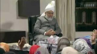 Gulshan-e-Waqfe Nau (Nasirat) Class: 24th January 2010 - Part 3 (Urdu)