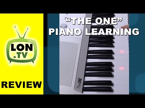 The One Piano Learning System Review - MIDI support also works with Garageband on iPad
