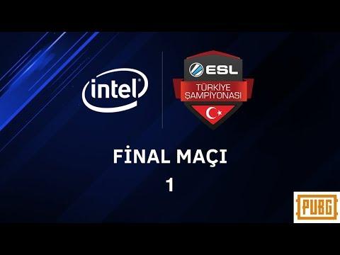 PUBG Invitational Turnuvası Intel ESL Türkiye Şampiyonası 1. Maç