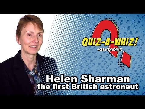 Helen Sharman on life aboard a Space Station
