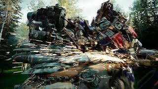 Трансформеры 2  Месть падших Битва в лесу 4K