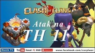PL WAR Clash of Clans - TH11 Gowiwi, Eagle Artillery, Grand Warden, Atak na numer 1 w wojnie