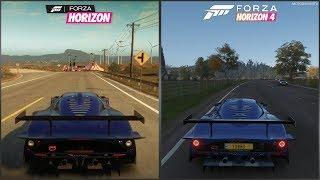 Forza Horizon vs Forza Horizon 4 - 2008 Maserati MC12 Versione Corsa Sound Comparison