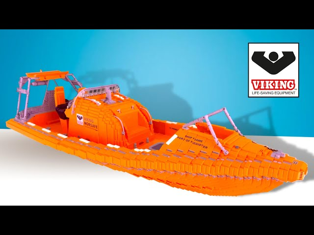 LEGO Lifeboat - Norsafe Magnum-750 MKII Fast Rescue Boat