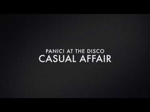 Panic! at the Disco-Casual Affair Lyric Video