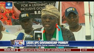 Sanwo-Olu Gets Some Leaders' Endorsement For Lagos APC Governorship
