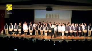 7. sınıfların ayakta alkışlanan oratoryosu: Yeni Vatan Yeni Devlet Yeni Toplum
