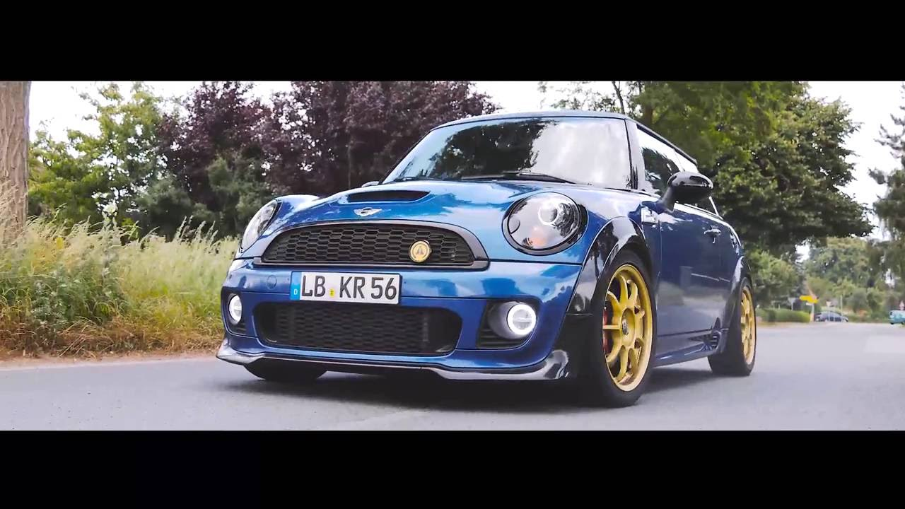 Mini Cooper R56 S/ JCW 1.6 TurboExhaust Sound 70mm 2,5 ...