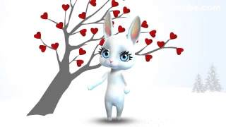 Зайка ZOOBE на русском «Что за праздник День Святого Валентина?»