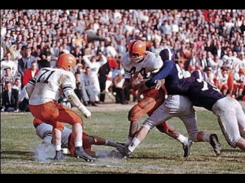 Classic Tailback - Jim Brown Syracuse Highlights - YouTube