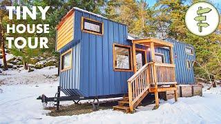 Impressive Modern Tiny House Build with FANTASTIC Interior Design!